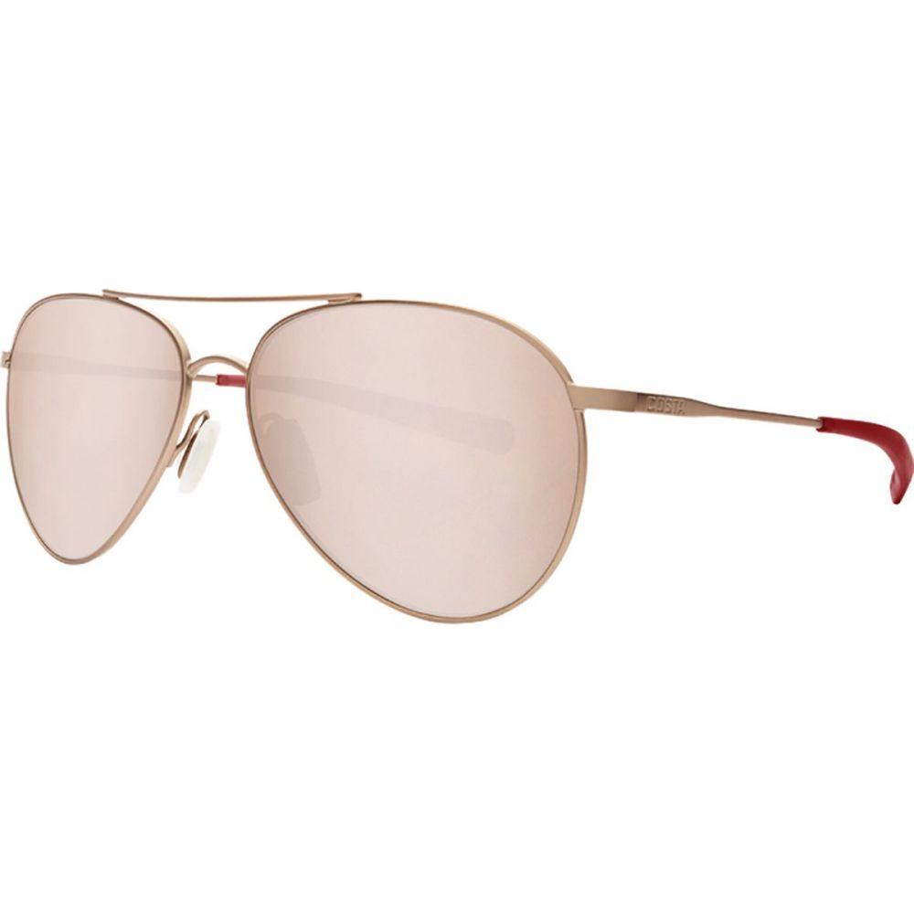 コスタ Costa レディース メガネ・サングラス 【Piper 580G Polarized Sunglasses】Satin Rose Frame/Copper