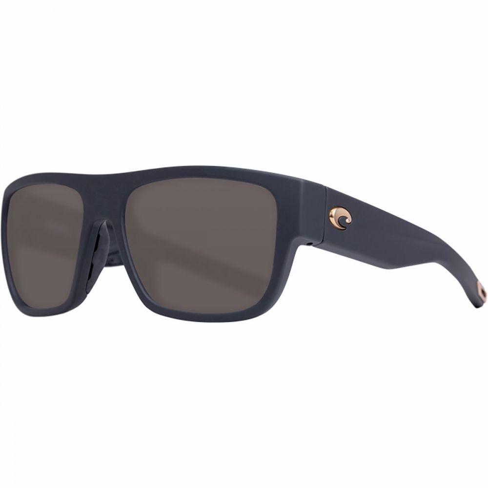 コスタ Costa レディース メガネ・サングラス 【Sampan 580G Polarized Sunglasses】Matte Black Ultra Frame/Gray