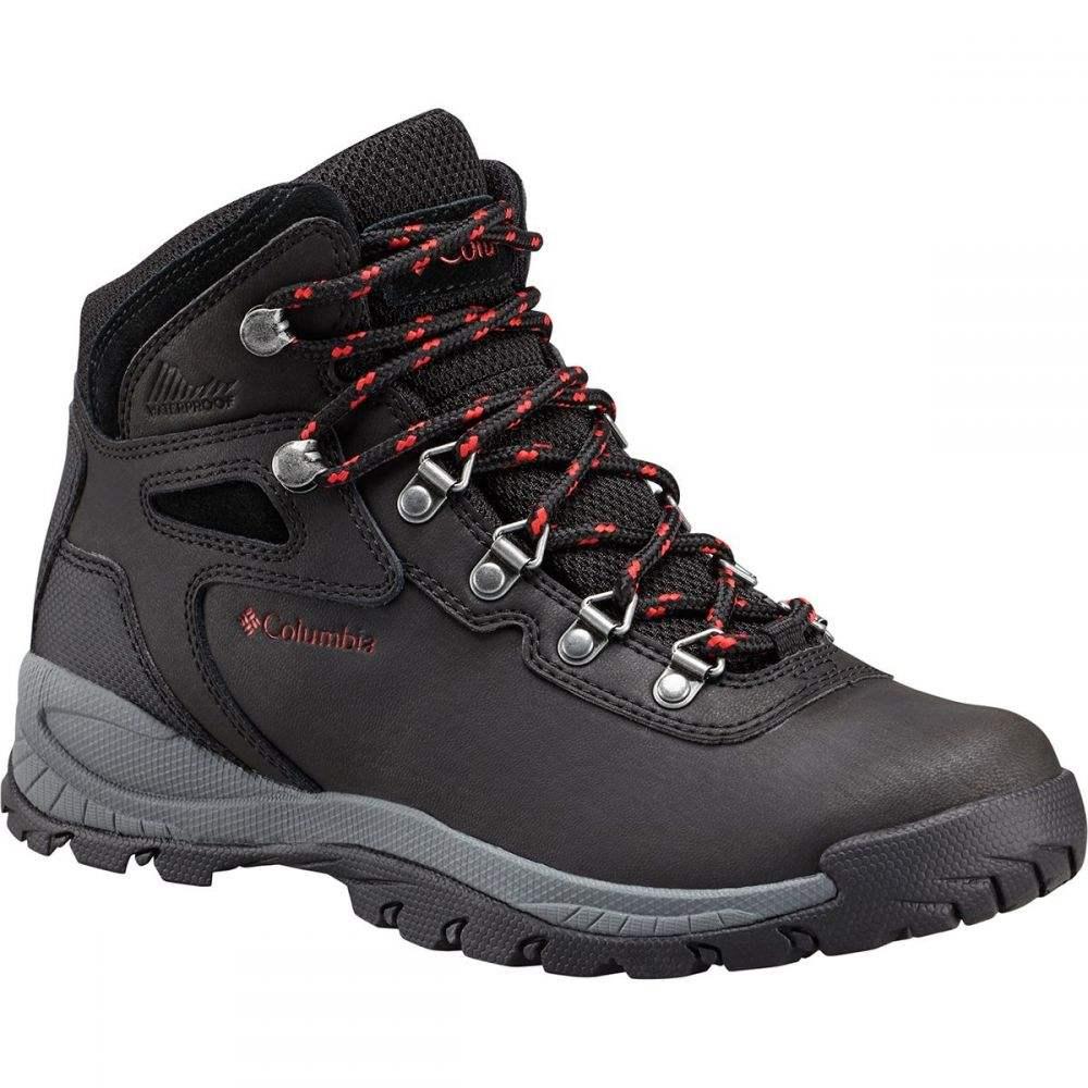 コロンビア Columbia レディース ハイキング・登山 ブーツ シューズ・靴【Newton Ridge Plus Hiking Boot】Black/Poppy Red
