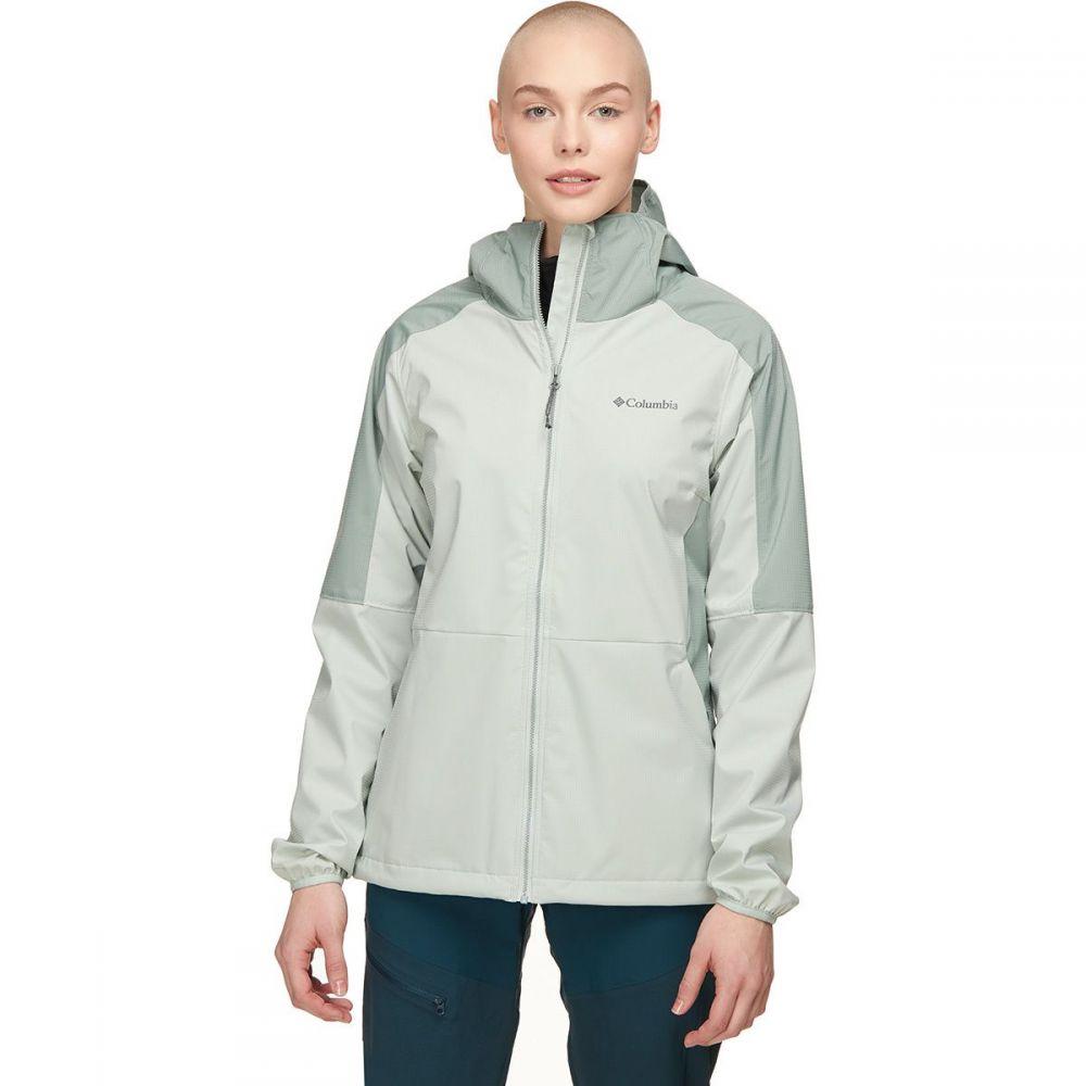 コロンビア Columbia レディース レインコート アウター【Mystic Trail Jacket】Cool Green/Light Lichen