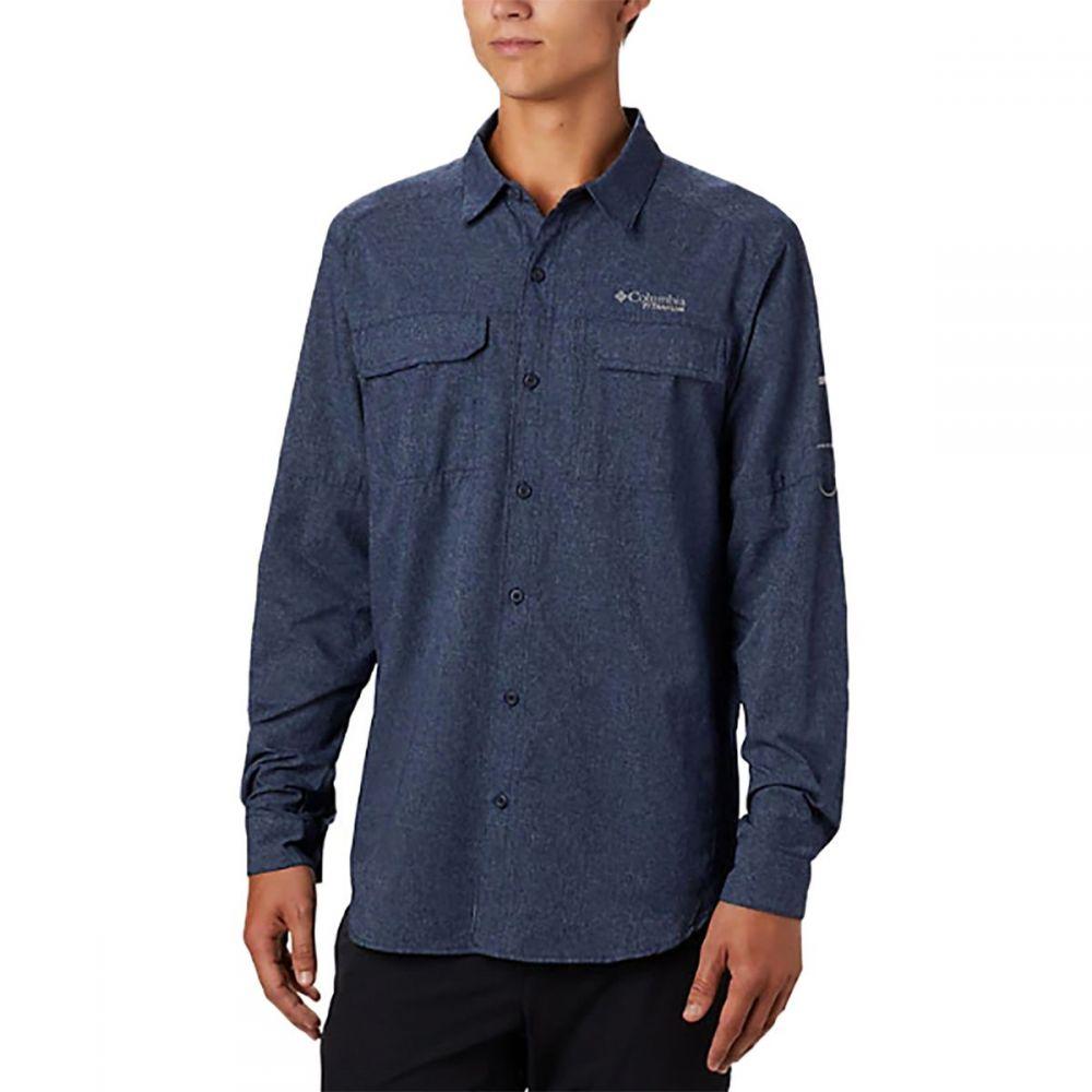 コロンビア Columbia メンズ シャツ トップス【Irico Long - Sleeve Shirt】Collegiate Navy