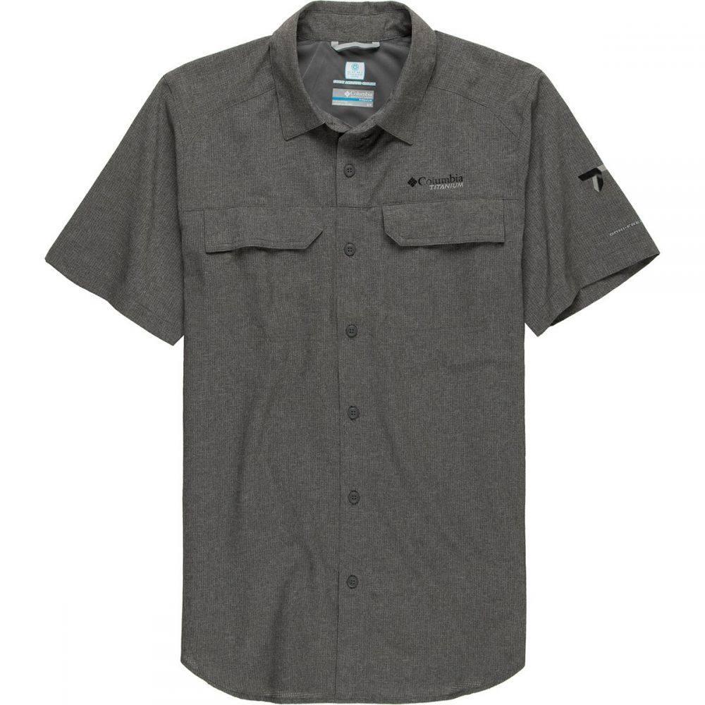 コロンビア Columbia メンズ 半袖シャツ トップス【Irico Short - Sleeve Shirt】City Grey