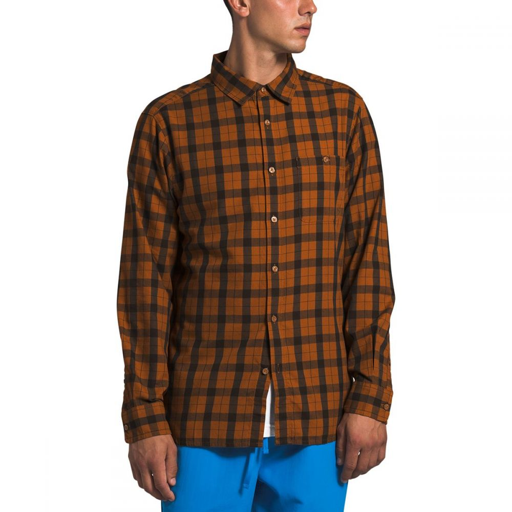 ザ ノースフェイス The North Face メンズ シャツ トップス【Hayden Pass 2.0 Long - Sleeve Shirt】Caramel Cafe Mountain Plaid