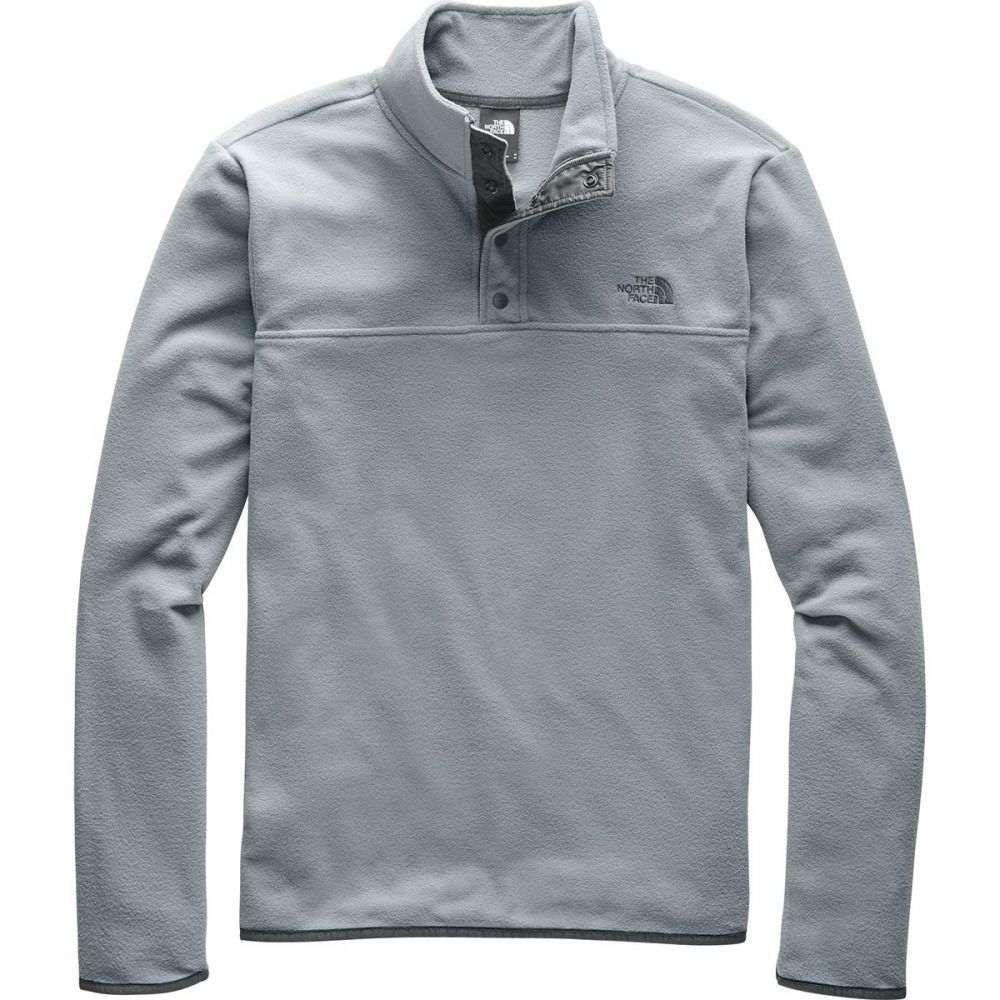 ザ ノースフェイス The North Face メンズ フリース トップス【TKA Glacier Snap - Neck Fleece Pullover】Mid Grey/Mid Grey