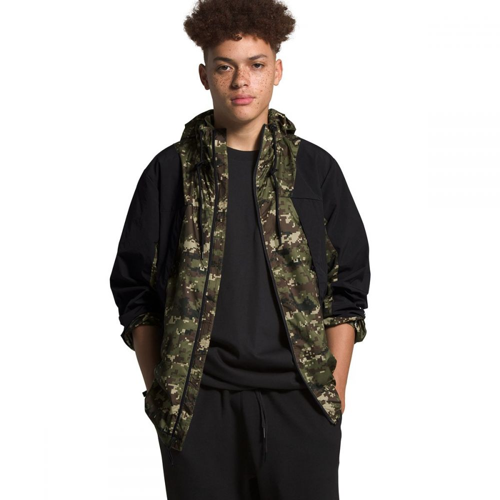 ザ ノースフェイス The North Face メンズ ジャケット ウィンドブレーカー アウター【Peril Wind Jacket】Burnt Olive Green UX Digi Camo Print