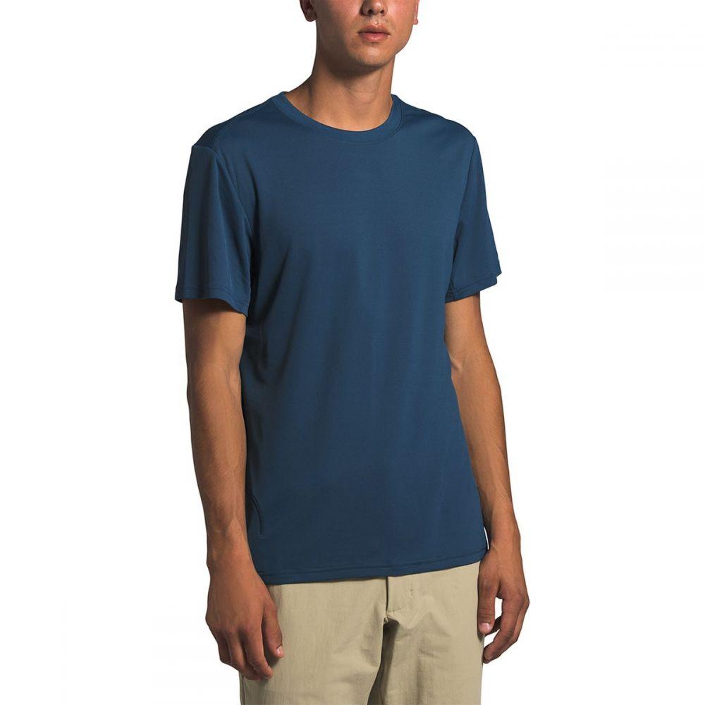 ザ ノースフェイス The North Face メンズ フィットネス・トレーニング ショートパンツ トップス【Explore City Short - Sleeve T - Shirt】Shady Blue