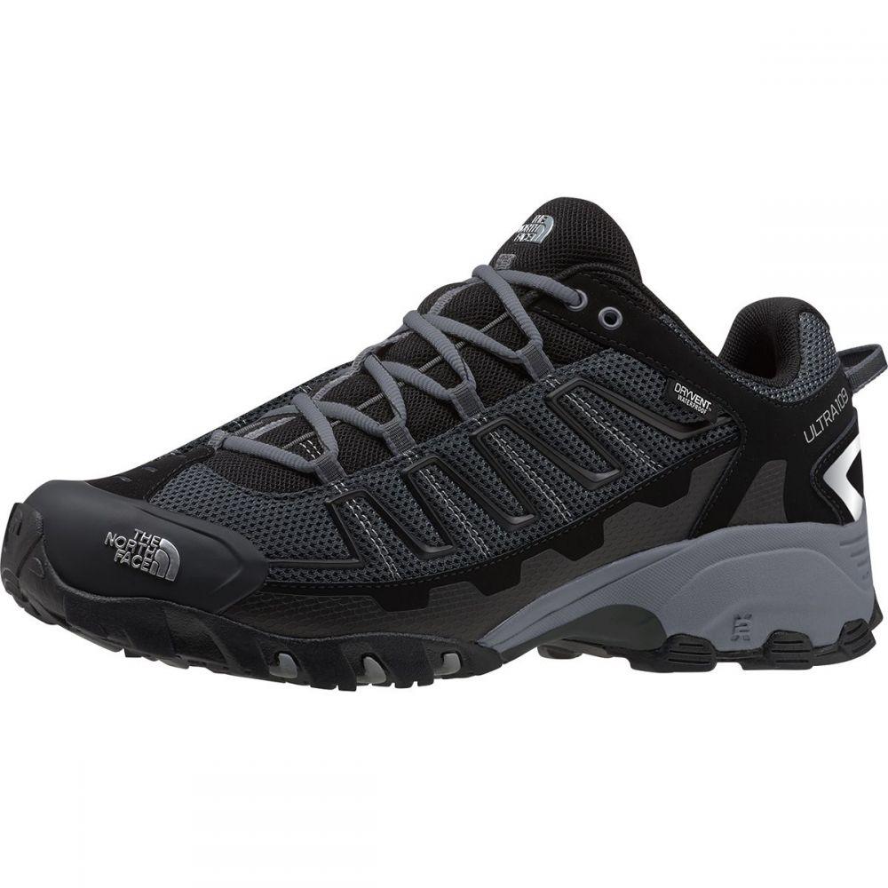 ザ ノースフェイス The North Face メンズ ランニング・ウォーキング シューズ・靴【Ultra 109 Waterproof Trail Running Shoe】TNF Black/Dark Shadow Grey