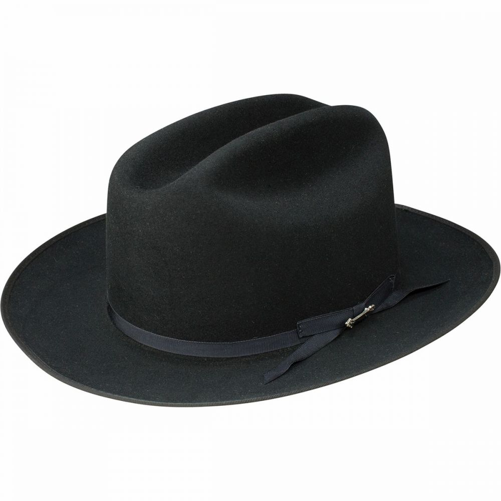 ステットソン Stetson レディース 帽子 【Open Road Royal Deluxe Hat】Black