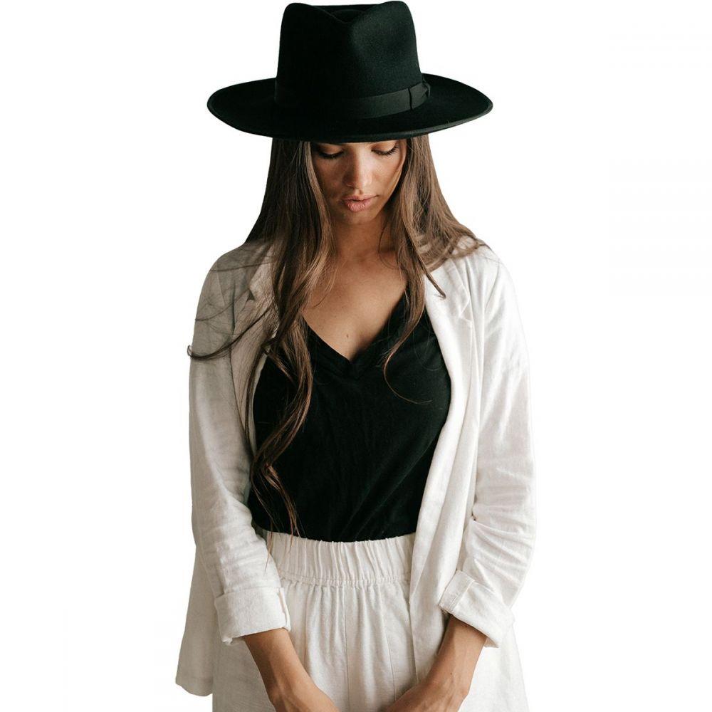 ジジ ピープ Gigi Pip レディース 帽子 【Monroe Hat】Black