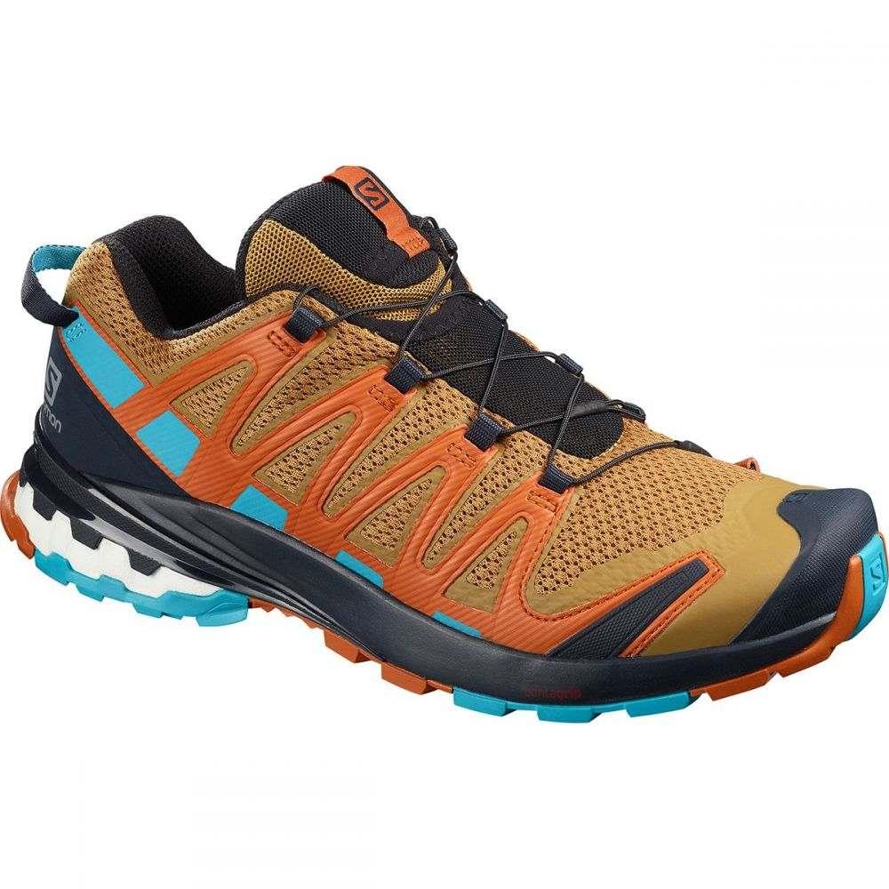 サロモン Salomon メンズ ランニング・ウォーキング シューズ・靴【XA Pro 3D V8 Trail Running Shoe】Bistre/Navy Blazer/Bluebird