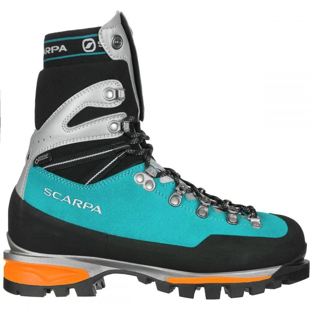 スカルパ Scarpa レディース ハイキング・登山 登山靴 シューズ・靴【Mont Blanc Pro GTX Mountaineering Boot】Turquoise