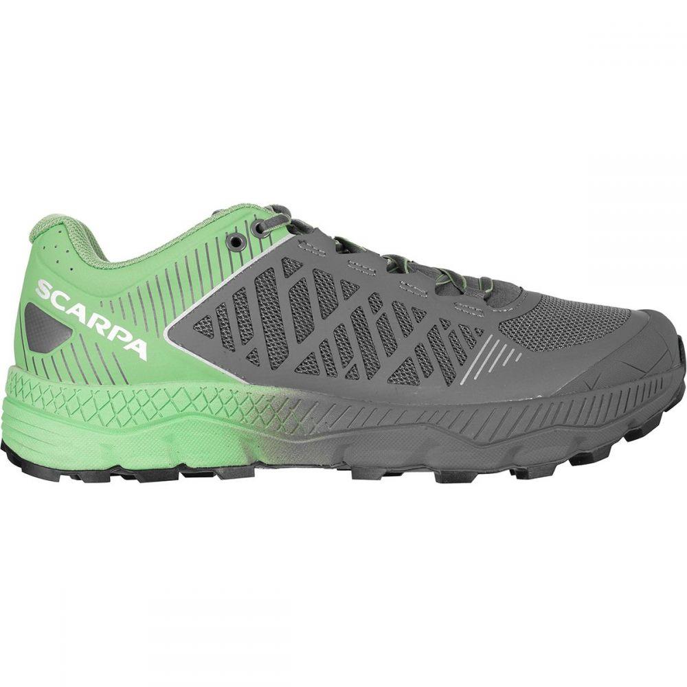 スカルパ Scarpa レディース ランニング・ウォーキング シューズ・靴【Spin Ultra Running Shoe】Shark/Mineral Green
