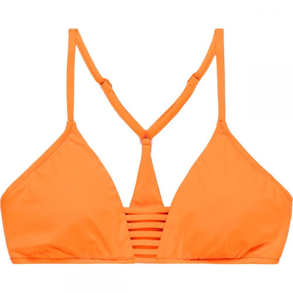 シーフォリー Seafolly レディース トップのみ ブラレット 水着・ビーチウェア【Active Multi Rouleau Bralette Bikini Top】Cantaloupe