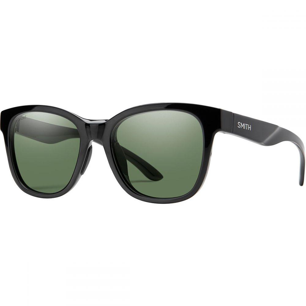 スミス Smith レディース メガネ・サングラス 【Caper Polarized Sunglasses】Black/Gray Green Polarized