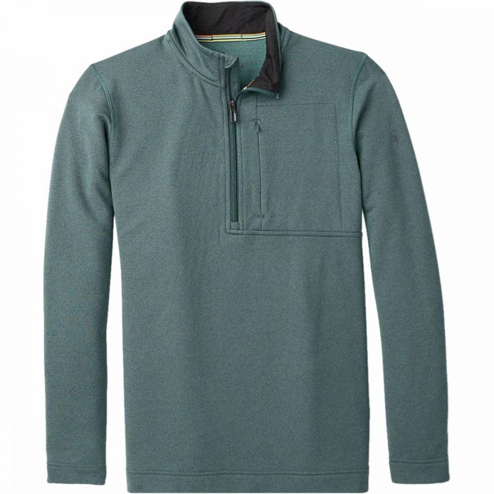 スマートウール Smartwool メンズ フリース ハーフジップ トップス【Merino Sport Fleece 1/2 - Zip Jacket】Pine Gray Heather