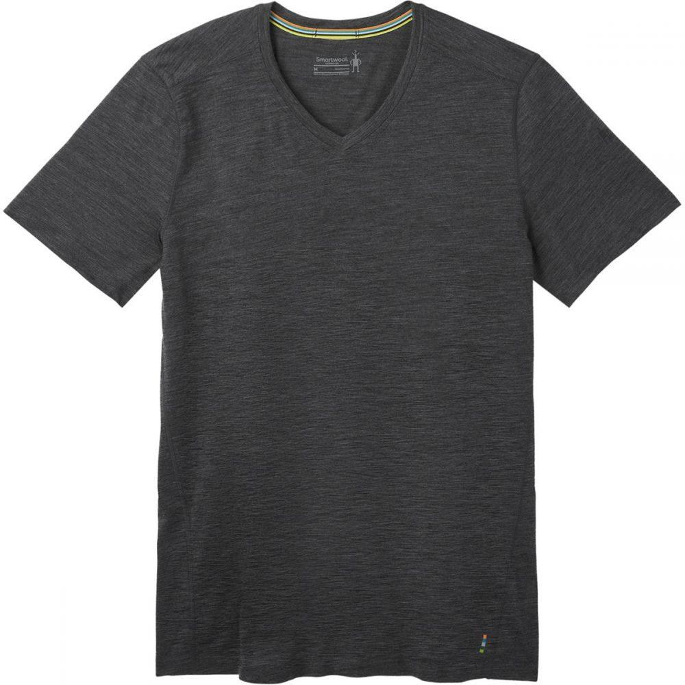 スマートウール Smartwool メンズ Tシャツ Vネック トップス【Merino 150 V - Neck Shirt】Iron Heather