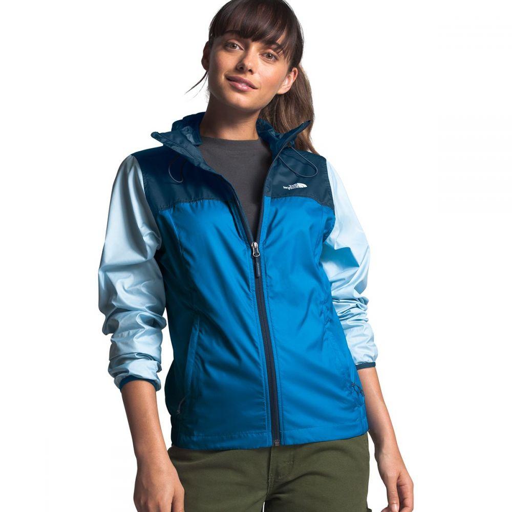 ザ ノースフェイス The North Face レディース ジャケット フード アウター【Cyclone Hooded Jacket】Clear Lake Blue/Blue Wing Teal/Angel Falls Blue