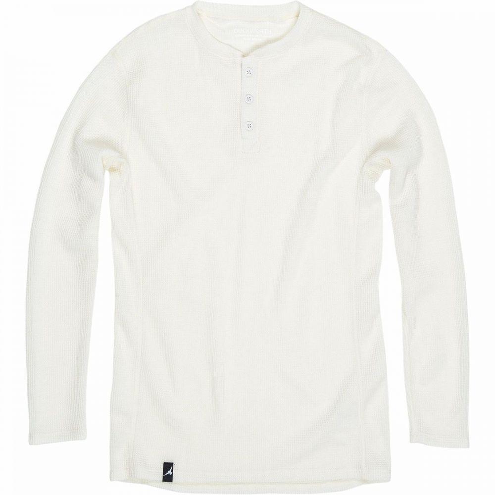 ダックワース Duckworth メンズ トップス ヘンリーシャツ【Polaris Henley Long - Sleeve Shirt】Natural