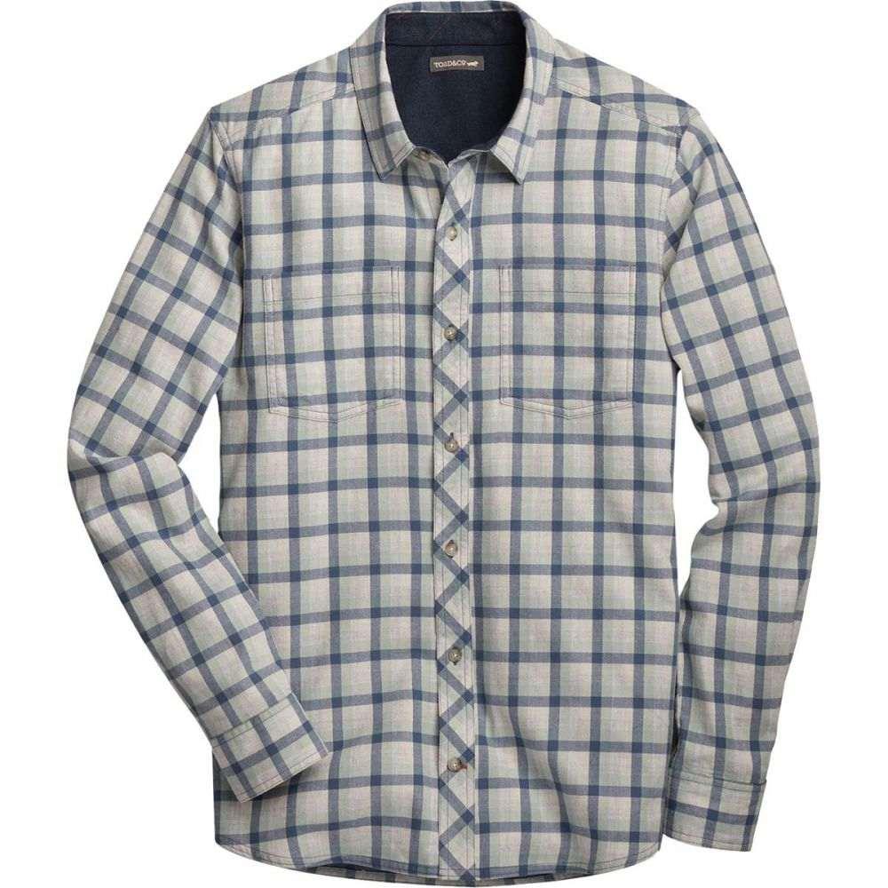 トードアンドコー Toad&Co メンズ シャツ トップス【Flannagan Long - Sleeve Shirt】Arctic