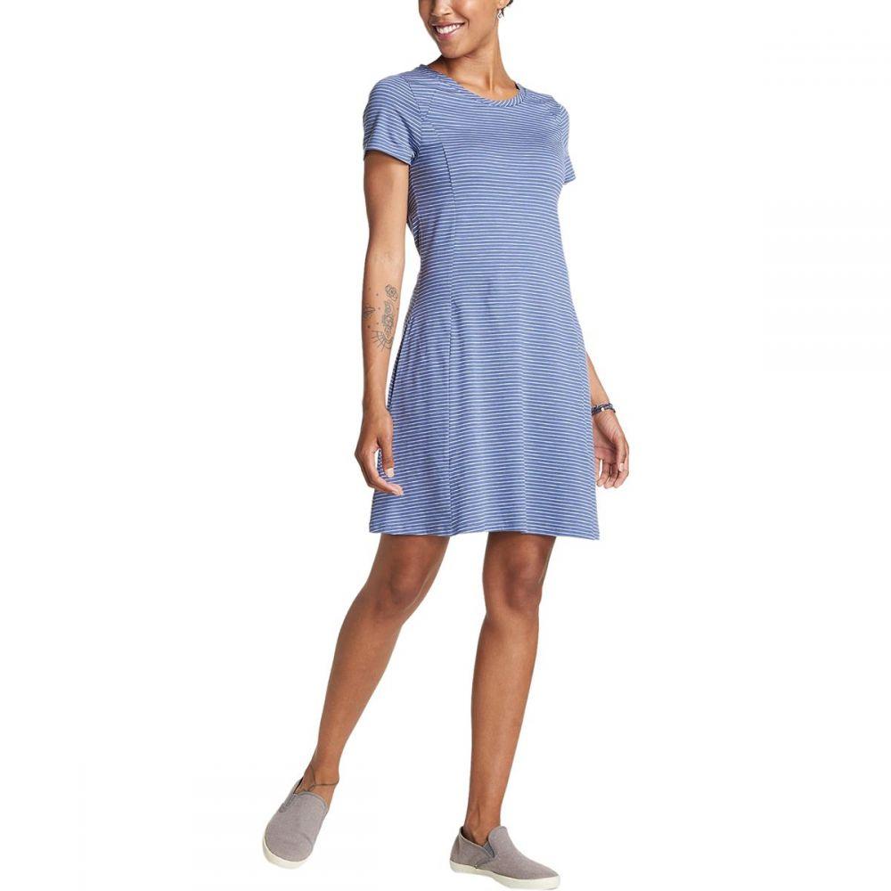 トードアンドコー Toad&Co レディース ワンピース ワンピース・ドレス【Windmere Short - Sleeve Dress】Blueberry Stripe