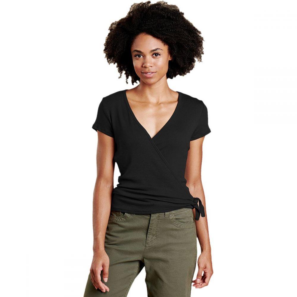 トードアンドコー Toad&Co レディース Tシャツ トップス【Daisy Rib Wrap Short - Sleeve Shirt】Black