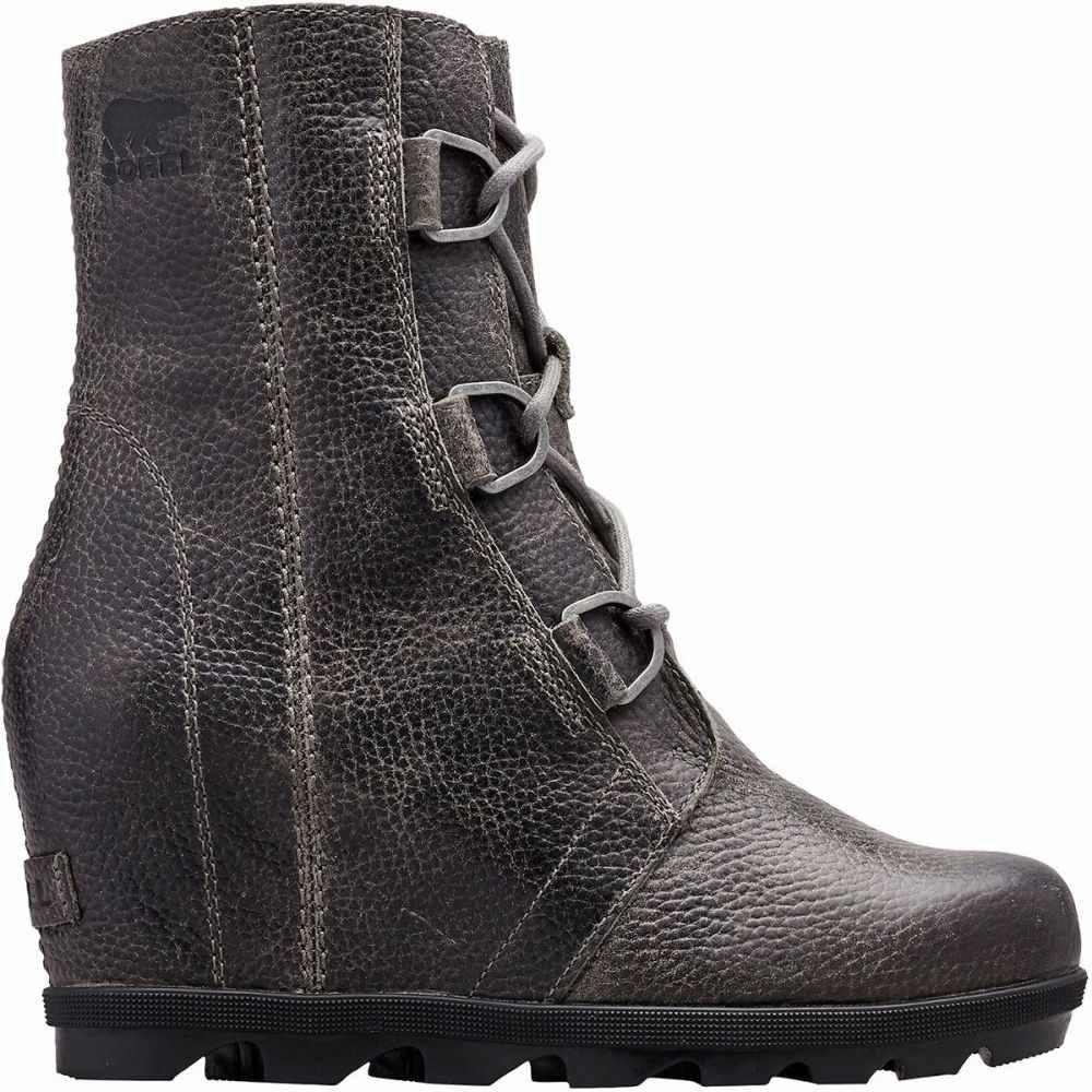 ソレル Sorel レディース ブーツ ウェッジソール シューズ・靴【Joan Of Arctic Wedge II Boot】Quarry