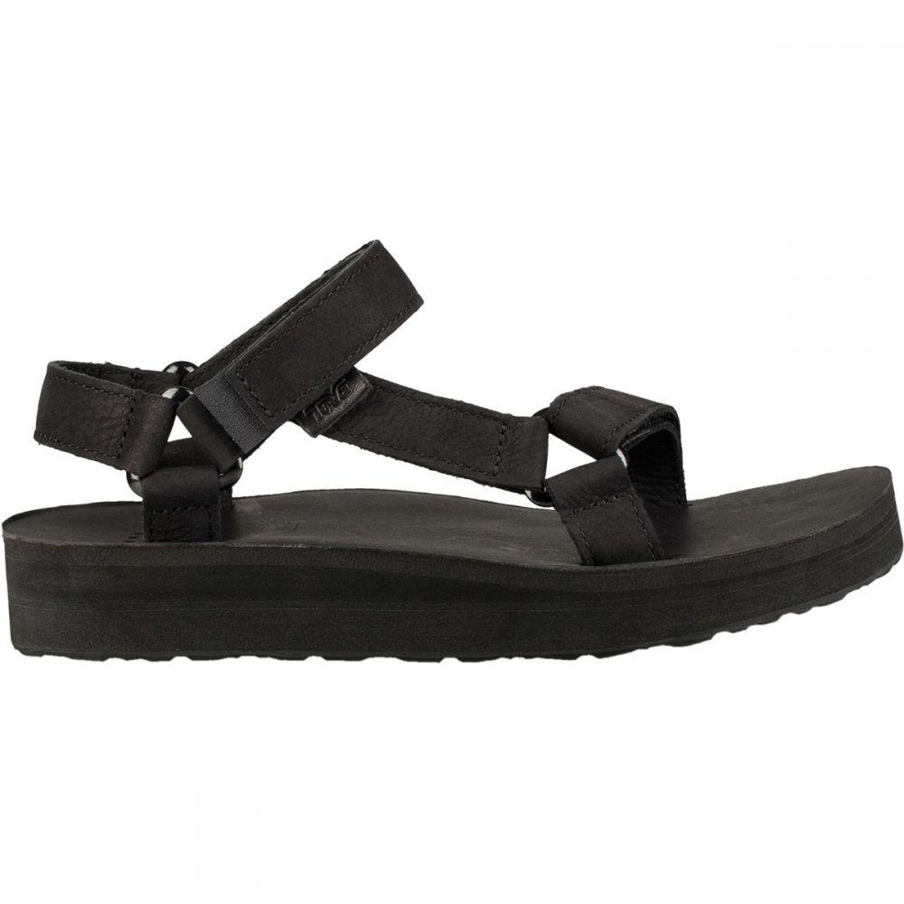 テバ Teva レディース サンダル・ミュール シューズ・靴【Midform Universal Leather Sandal】Black