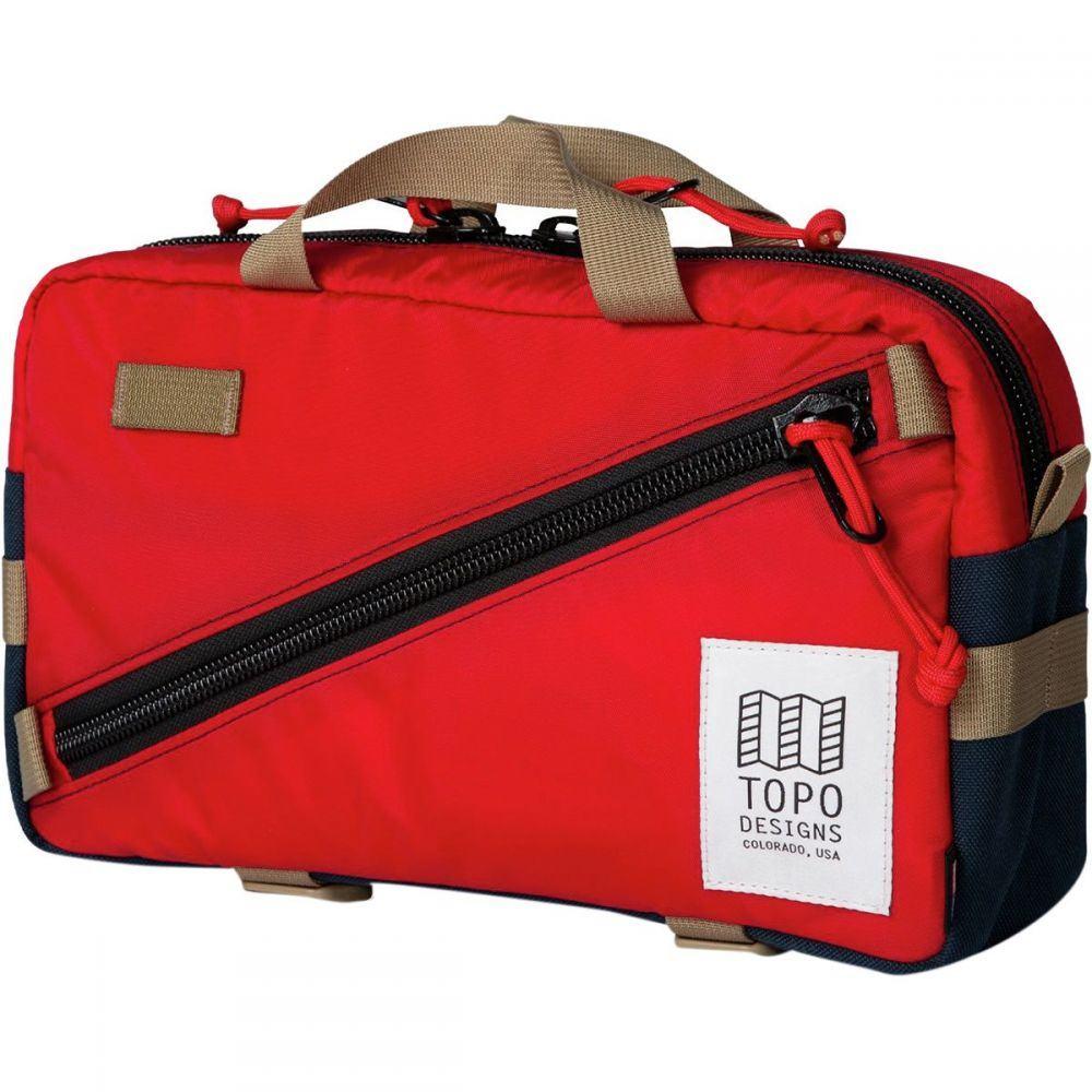 トポ デザイン Topo Designs レディース ハイキング・登山 バックパック・リュック【Quick 6L Backpack】Red/Navy