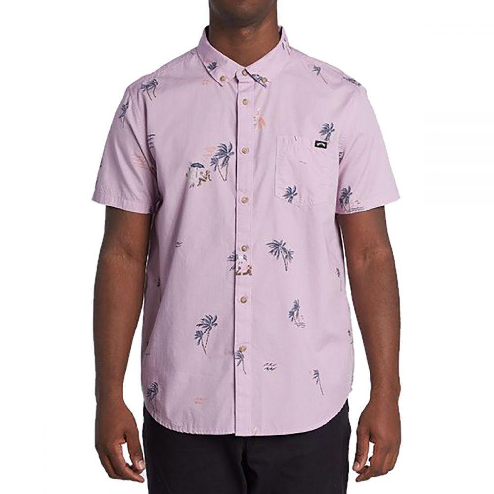 ビラボン Billabong メンズ 半袖シャツ トップス【Sundays Mini Short - Sleeve Shirt】Pink Haze