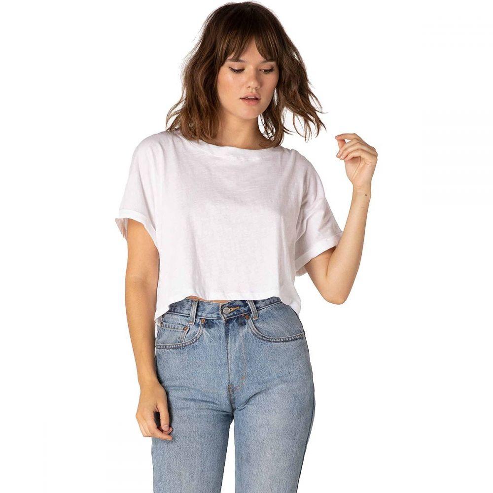 ビヨンドヨガ Beyond Yoga レディース Tシャツ トップス【Never Been Boxy T - Shirt】White