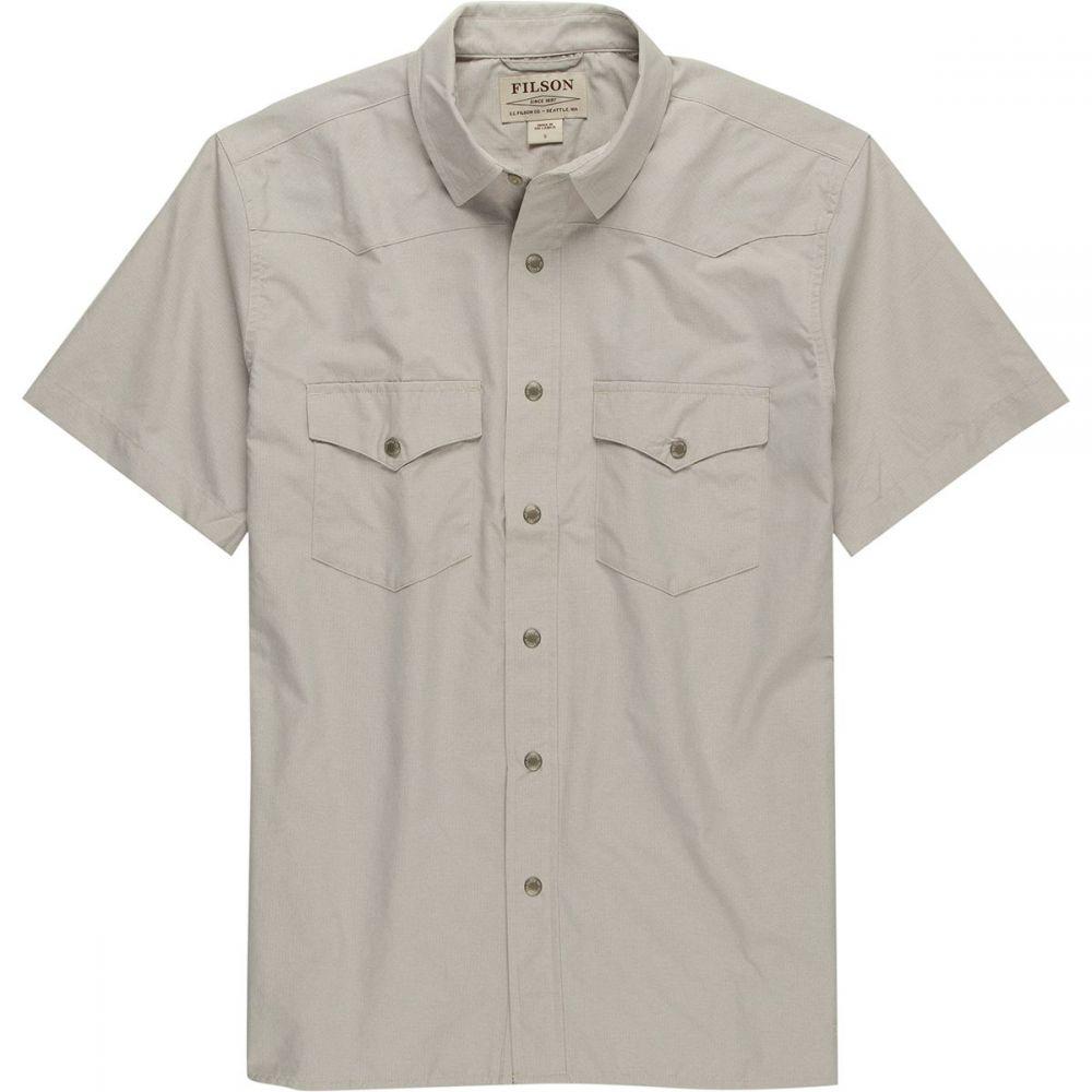 フィルソン Filson メンズ 半袖シャツ トップス【Snap Front Short - Sleeve Shirt】Sandstone