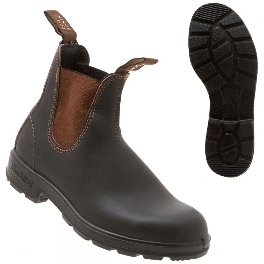 ブランドストーン Blundstone レディース ブーツ シューズ・靴【500 Series Original Boot】Stout Brown