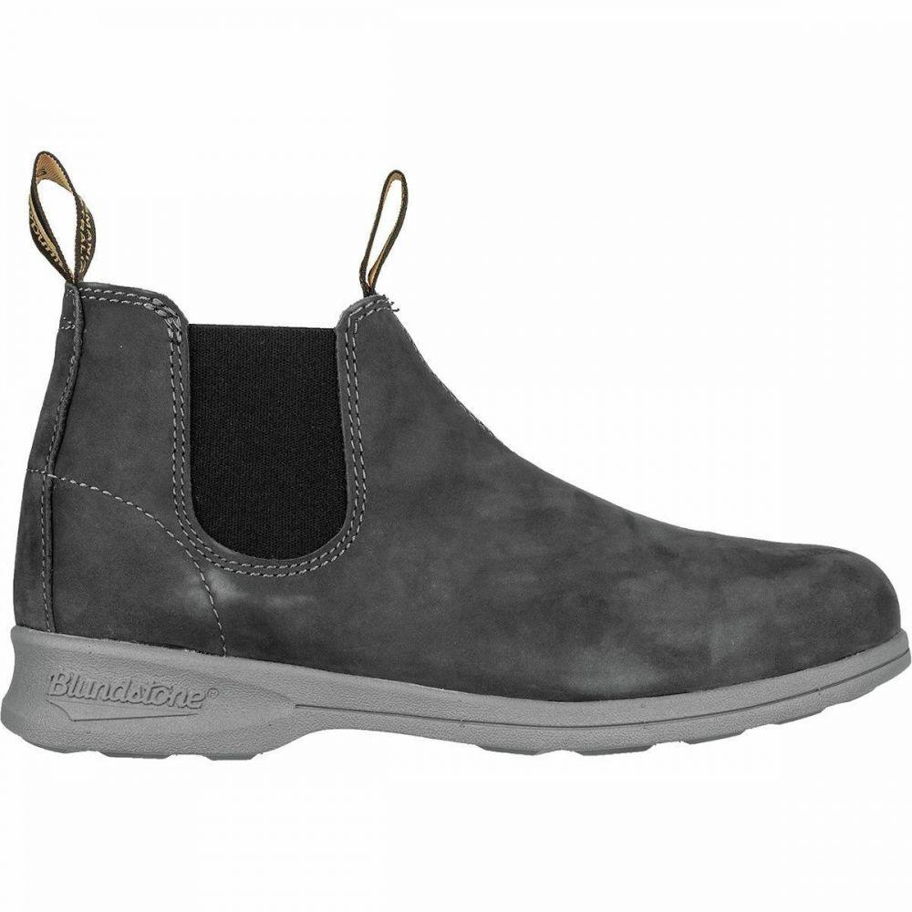 ブランドストーン Blundstone レディース ブーツ シューズ・靴【Active Series Mid Cut Leather Boot】Rustic Black
