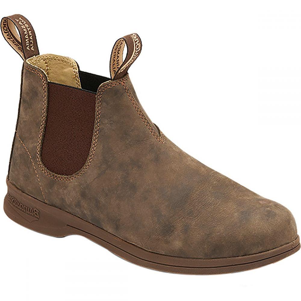 ブランドストーン Blundstone メンズ ブーツ シューズ・靴【Active Series Mid Cut Leather Boot】Rustic Brown