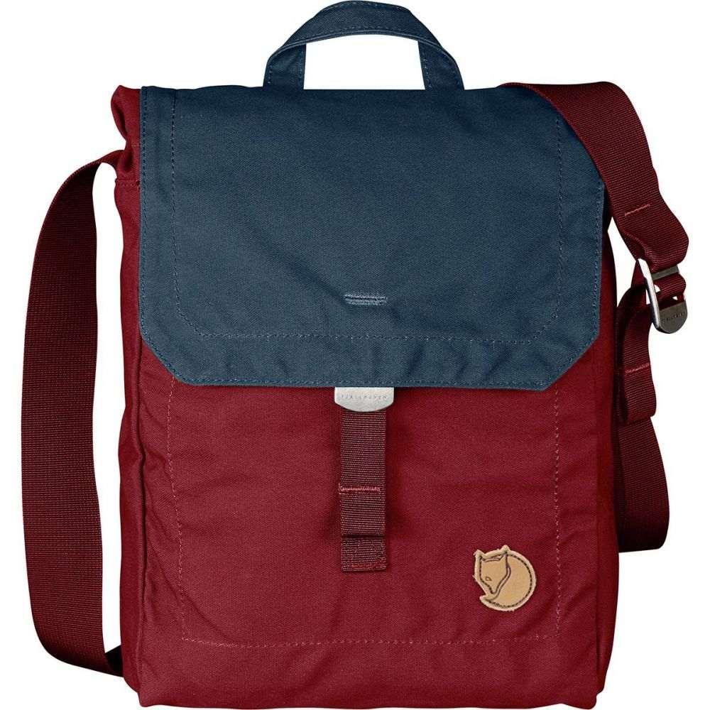 フェールラーベン Fjallraven レディース ショルダーバッグ バッグ【Foldsack No.3 Shoulder Bag】Ox Red/Navy