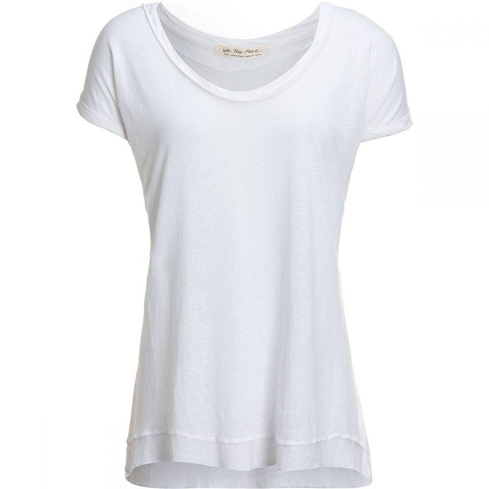 フリーピープル Free People レディース Tシャツ トップス【Under the Sun T - Shirt】White
