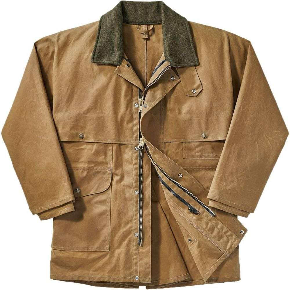 フィルソン Filson メンズ コート アウター【Tin Cloth Packer Coat】Dark Tan