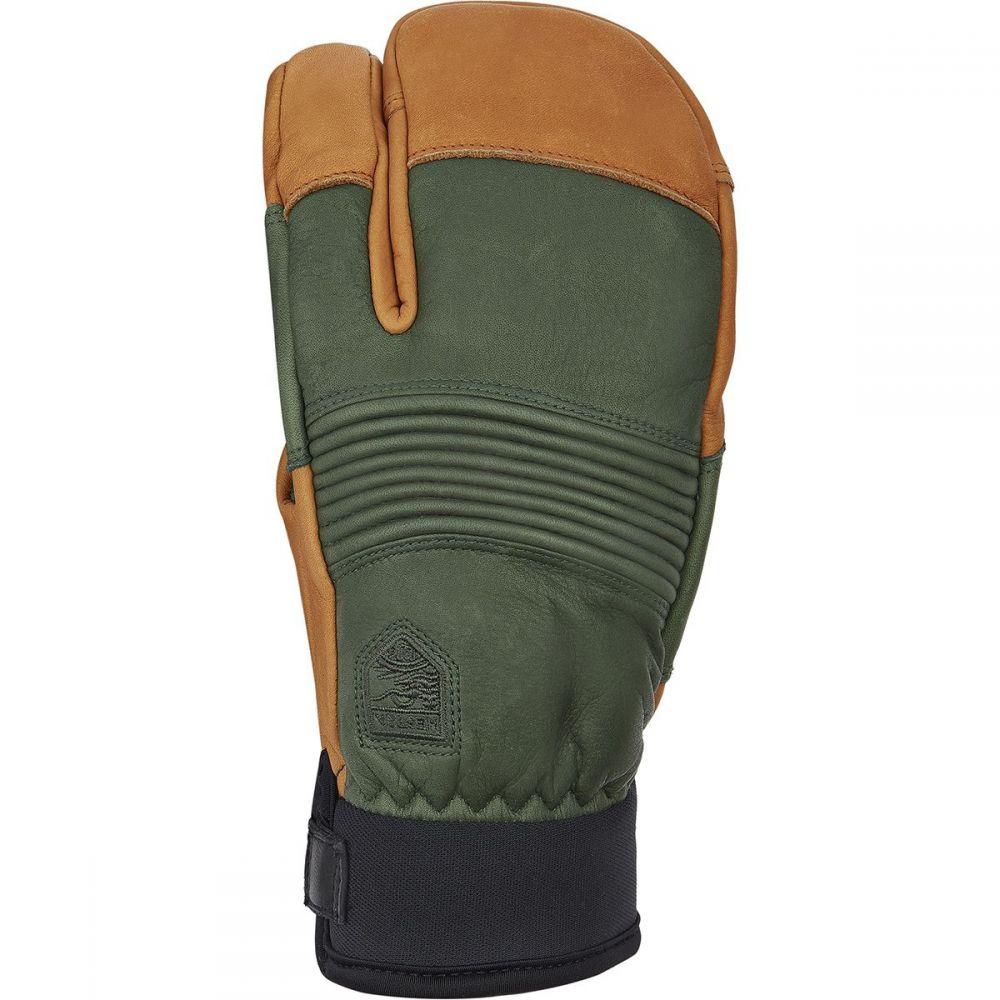ヘスタ Hestra メンズ スキー・スノーボード グローブ【Freeride CZone 3 - Finger Glove】Forest/Cork