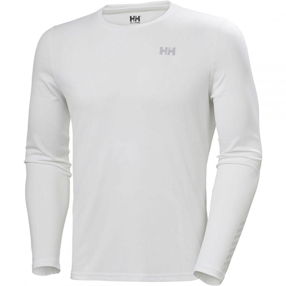 ヘリーハンセン Helly Hansen レディース ランニング・ウォーキング トップス【HH Lifa Active Solen Long - Sleeve Shirt】White
