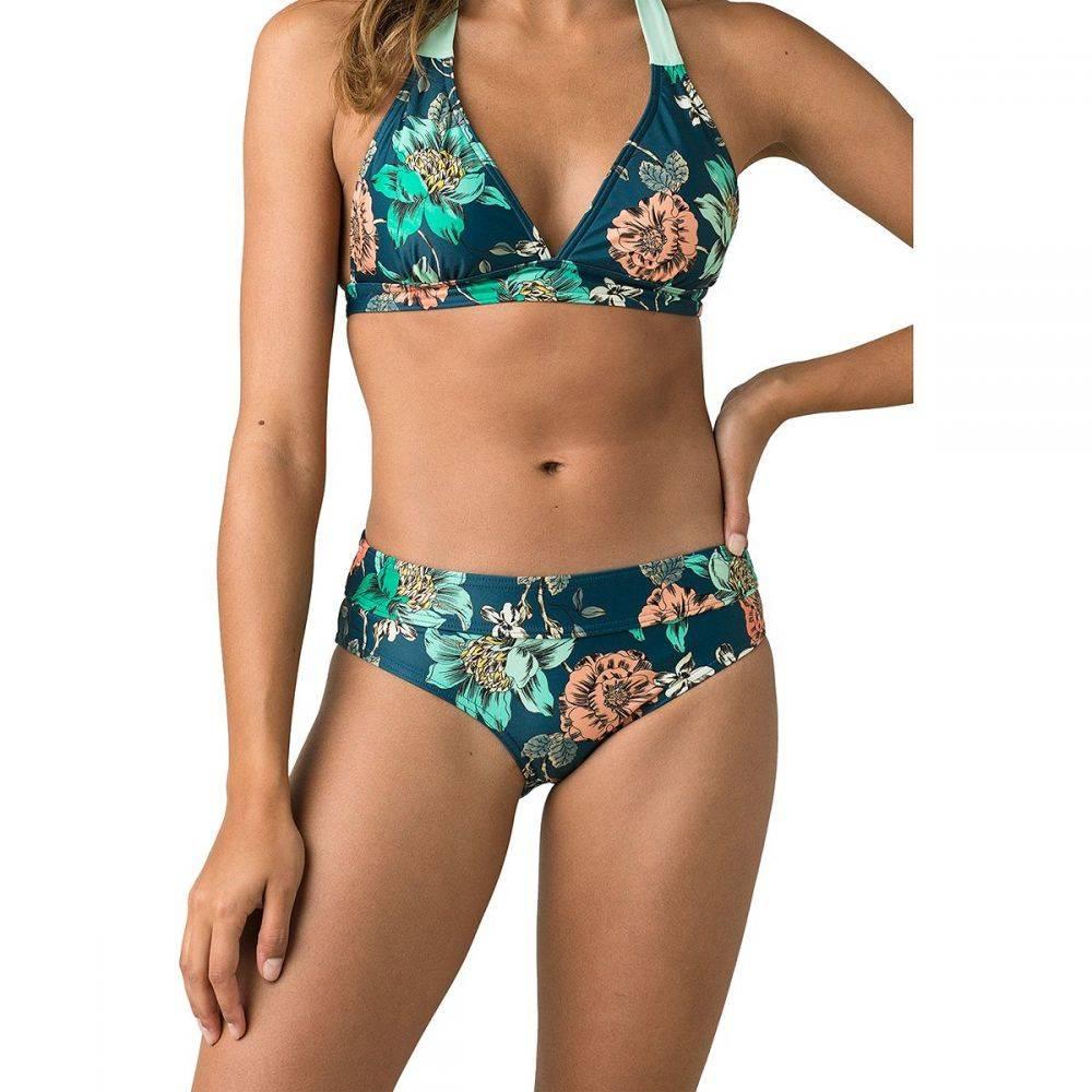 プラーナ Prana レディース ボトムのみ 水着・ビーチウェア【Ramba Bikini Bottom】Atlantic Camelia