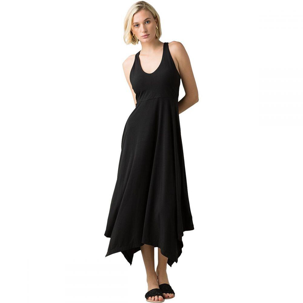プラーナ Prana レディース ワンピース マキシ丈 ワンピース・ドレス【Josepina Maxi Dress】Black