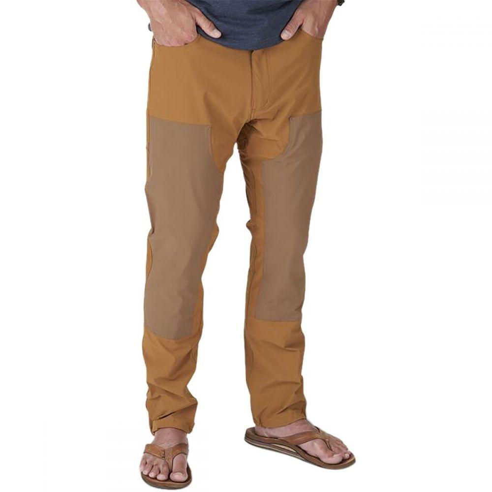 ホウラーブラザーズ Howler Brothers メンズ 釣り・フィッシング ワークパンツ ボトムス・パンツ【Waterman's Work Pant】Workingman's Tan