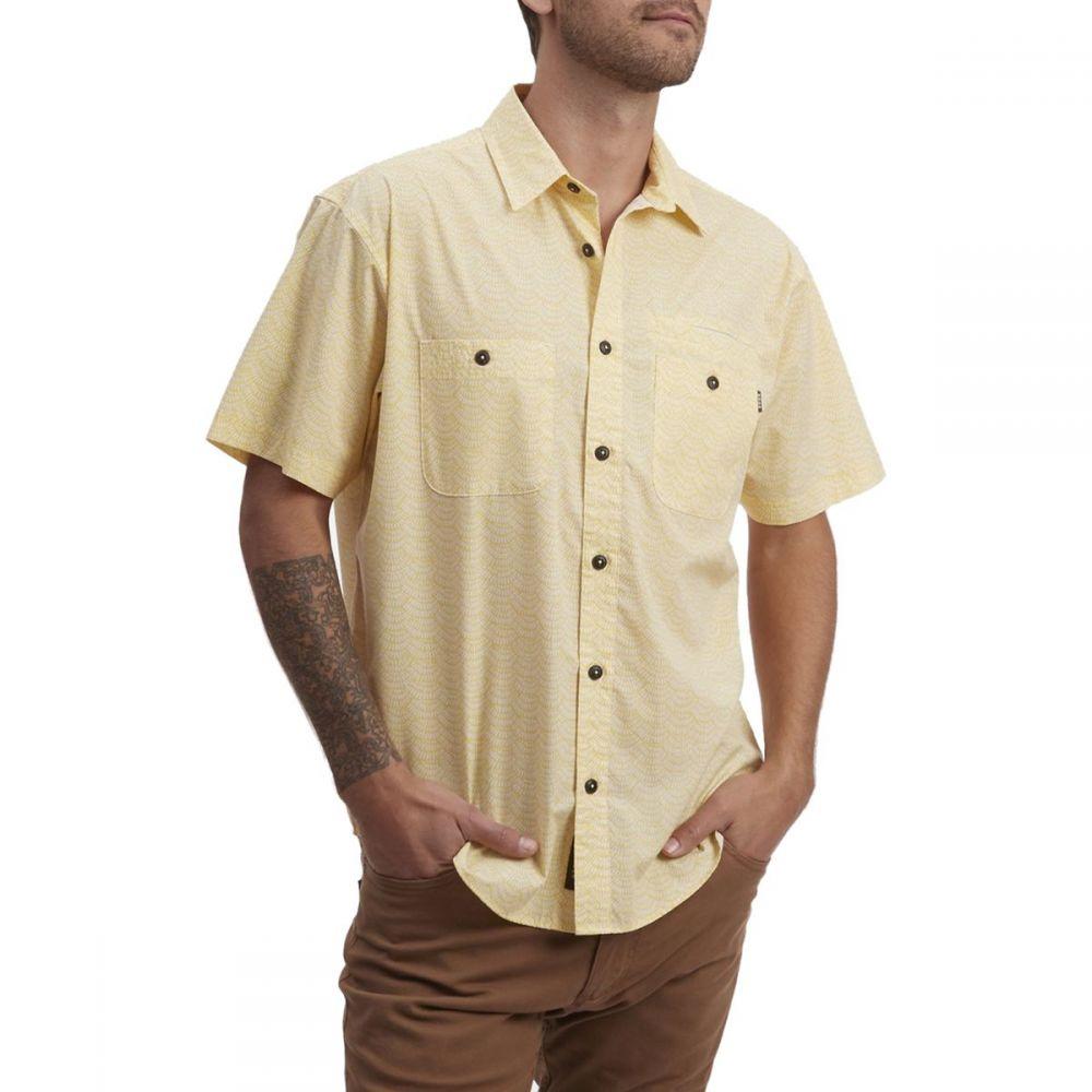 ホウラーブラザーズ Howler Brothers メンズ シャツ トップス【Aransas Shirt】Tarpon Scale Maize