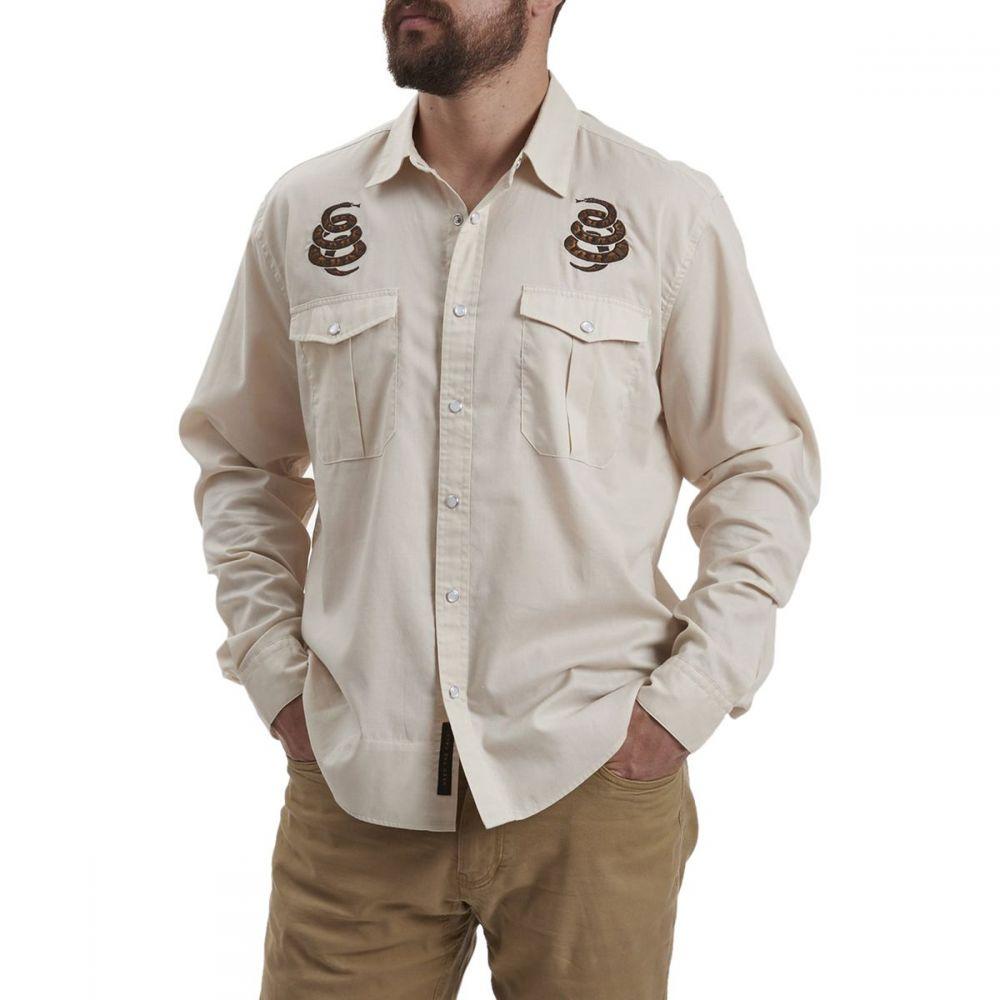 ホウラーブラザーズ Howler Brothers メンズ シャツ トップス【Gaucho Snapshirt】Riverbed Oxford Cottonmouth