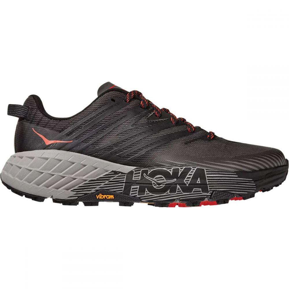 ホカ オネオネ HOKA ONE ONE メンズ ランニング・ウォーキング シューズ・靴【Speedgoat 4 Running Shoe】Dark Gull Grey/Anthracite