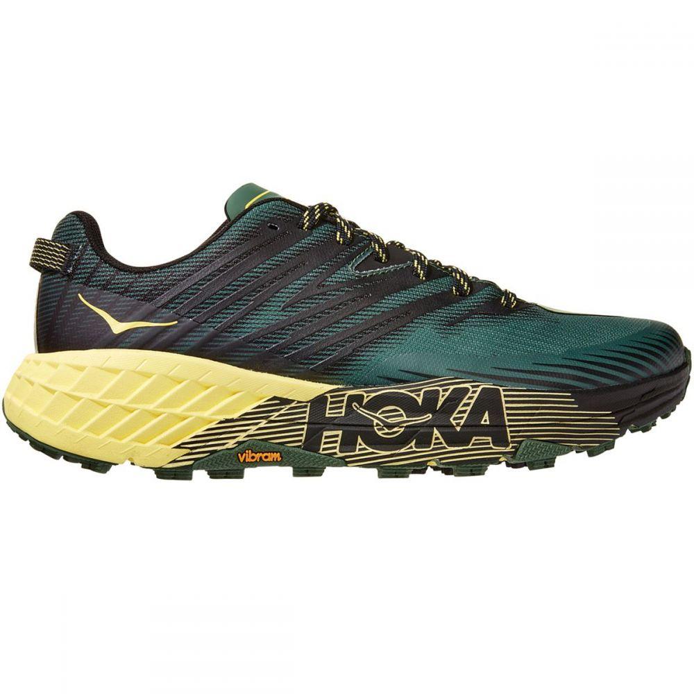 ホカ オネオネ HOKA ONE ONE メンズ ランニング・ウォーキング シューズ・靴【Speedgoat 4 Running Shoe】Myrtle/Limelight