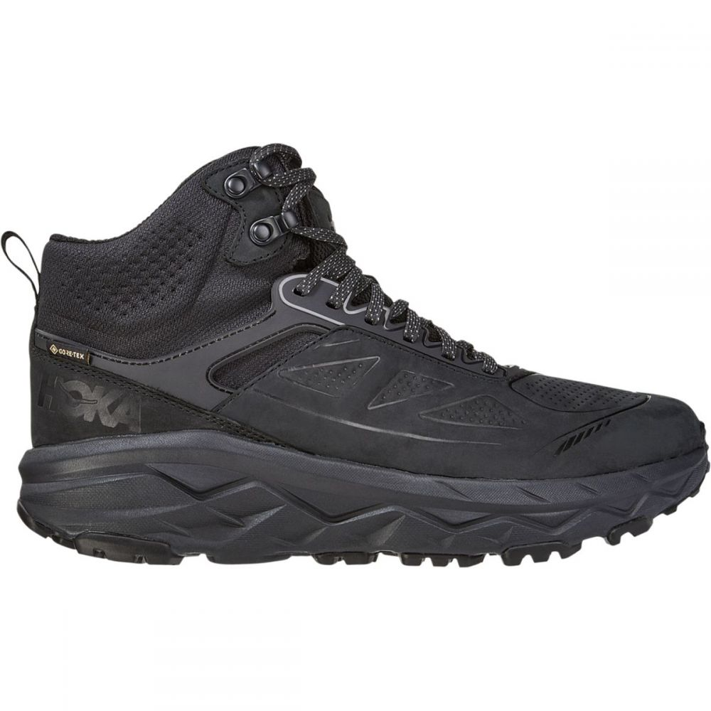 ホカ オネオネ HOKA ONE ONE メンズ ハイキング・登山 シューズ・靴【Challenger Mid GTX Hiking Shoe】Black