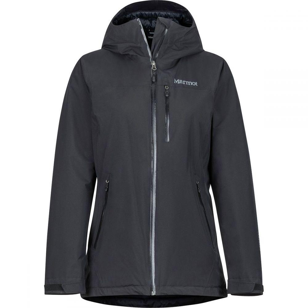 マーモット Marmot レディース スキー・スノーボード フード ジャケット アウター【Solaris Insulated Hooded Jacket】Black