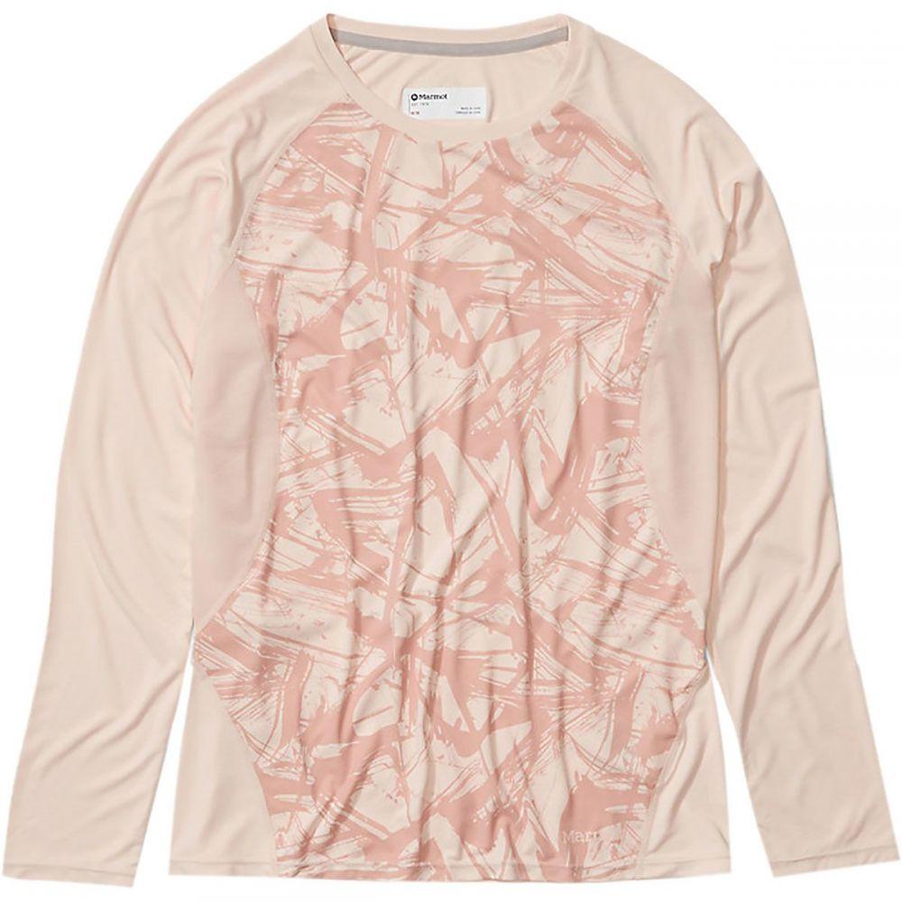 マーモット Marmot レディース 長袖Tシャツ トップス【Crystal Long - Sleeve Shirt】Mandarin Mist Race Line