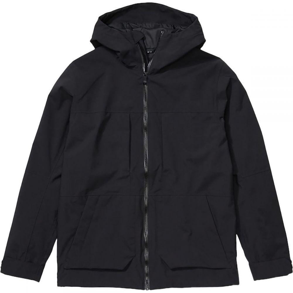 マーモット Marmot メンズ レインコート アウター【Hudson Jacket】Black